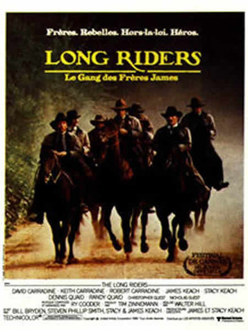 Long Riders, le gang des fréres James