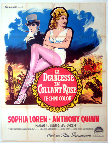 La Diablesse en collant rose