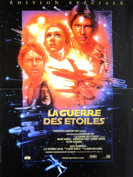 """Résultat de recherche d'images pour """"affiche star wars la guerre des étoiles"""""""